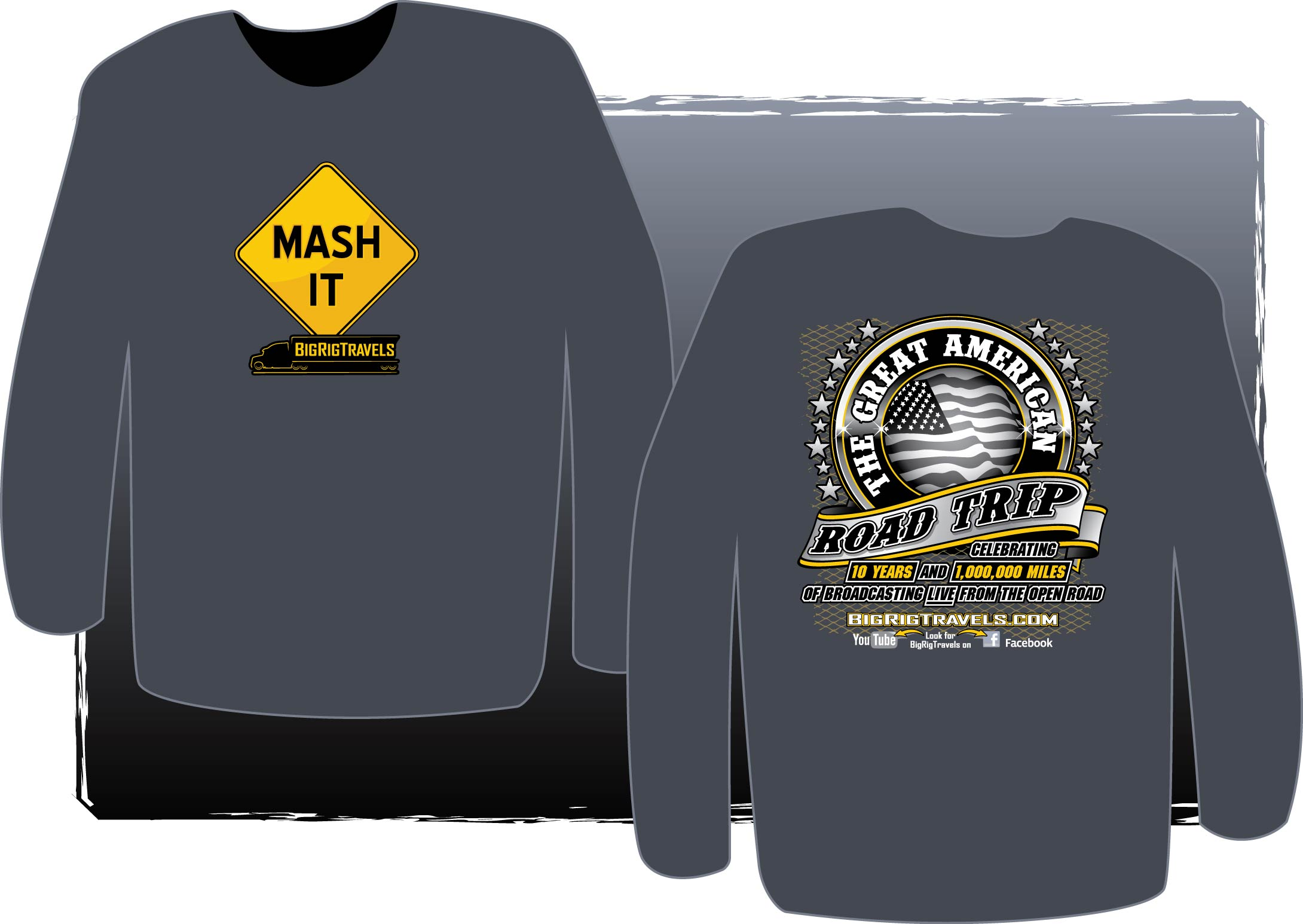 2d3aad750 Mash It Pullover Sweatshirt – Big Rig Travels