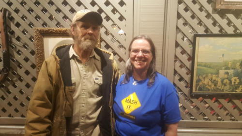 Nancy from Iowa met BigRigSteve at Cracker Barrel in Northern Illinois on October 4, 2018