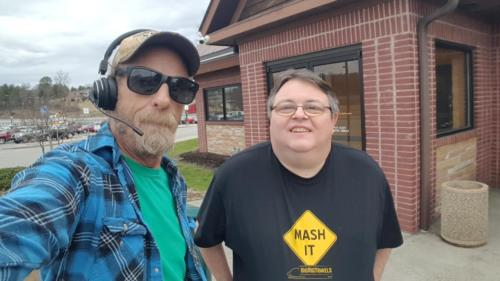 Greg Treadway from West Virginia finally got to meet up with us in Beckley at Tamarack on March 13, 2019