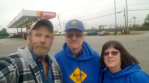 Jack Rose and wife Barbara showed up at the truckstop in Nitro, West Virginia on October 13, 2019