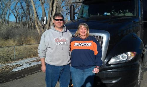 December 2011David and Gretchen from Rifle, Colorado