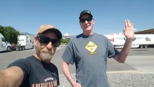 Don Miller from Salt Lake City,  Utah met up with BigRigSteve  on Saturday June 23, 2018